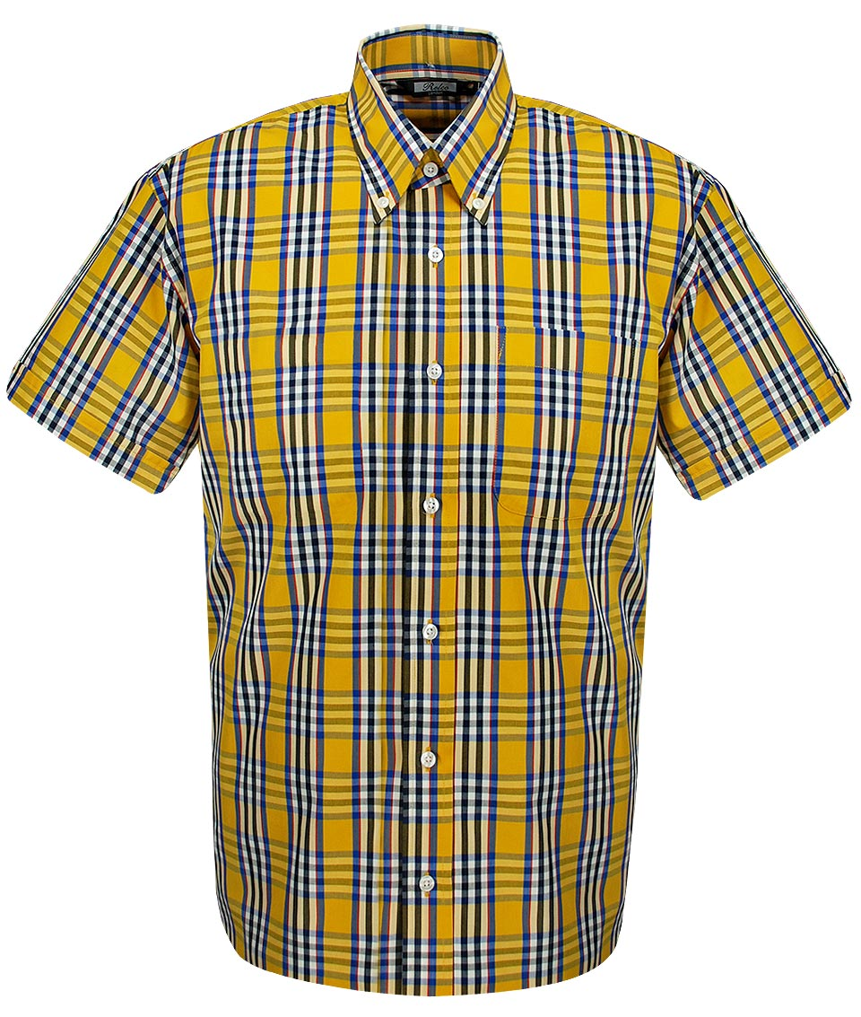 ASOS DESIGN oversized check shirt with poppers in yellow. $ ASOS DESIGN skinny check shirt in black. $ ASOS DESIGN oversized check shirt with geo-tribal design in red. $ Jack & Jones Originals brushed check shirt in slim fit. $ New Look regular fit shirt in red check.