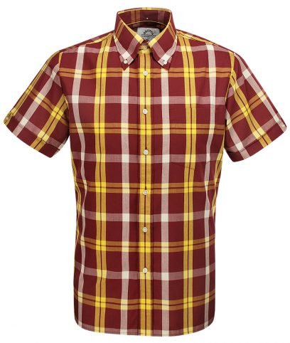 Brutus Dr Martens Oxblood Yellow DM8 Shirt