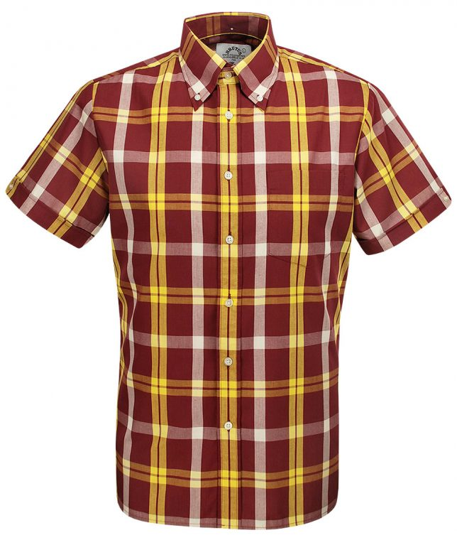 Brutus Dr Martens Oxblood Yellow DM8 Shirt