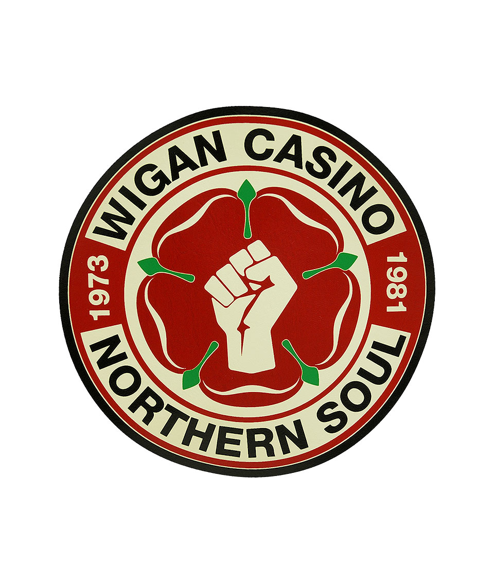 Wigan Casino Ecru Northern Soul Flight Bag