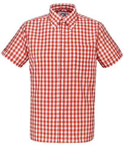 Brutus Red Large Gingham Shirt