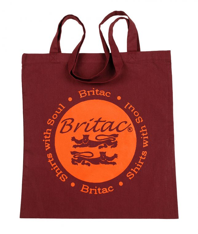 Britac Burgundy Tote Bag