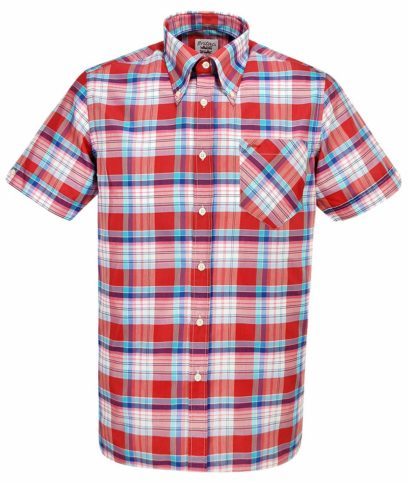 Britac SL432 Red Check Shirt