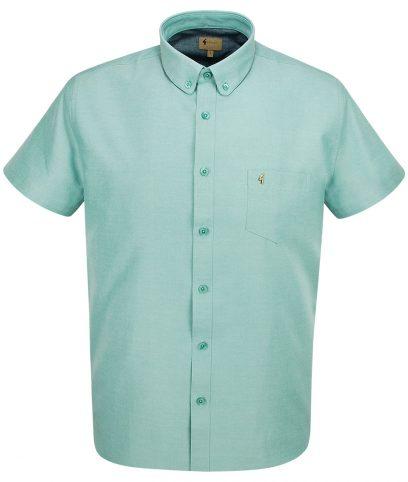 Gabicci Vintage Spearmint Oxford Shirt