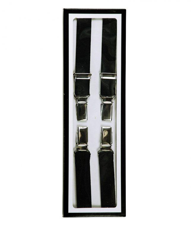 Relco Black Braces Suspenders