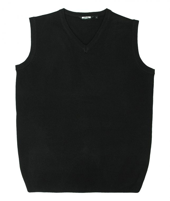 Relco Black Knitted Tank Top
