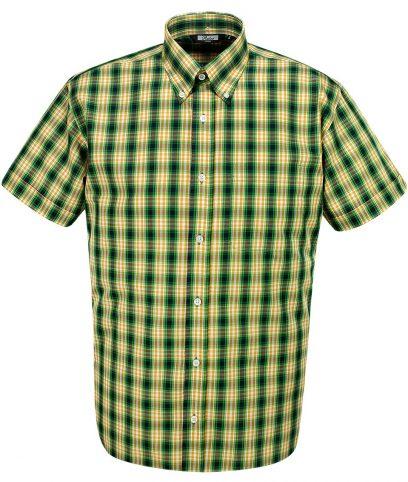 Relco Green CK23 Check Shirt