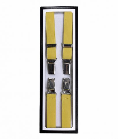 Relco Yellow Braces Suspenders