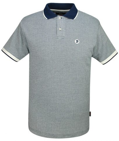 Lambretta Mustard Square Target Logo 100/% Cotton T Shirt