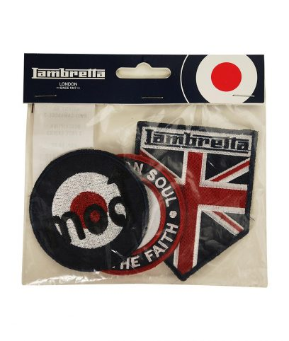 Lambretta Badge Set 2