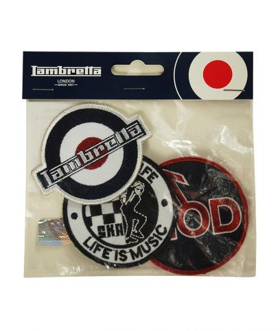 Lambretta Badge Set 4