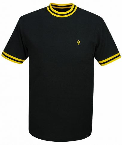 Wigan Casino Black & Old Gold Plain Top