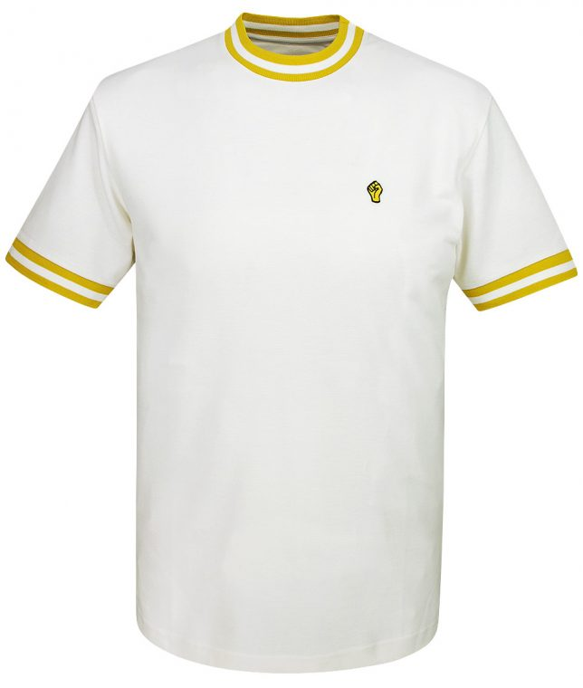 Wigan Casino Ecru Gold Plain Top