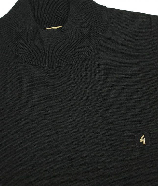 Gabicci Vintage Black Turtleneck Jumper