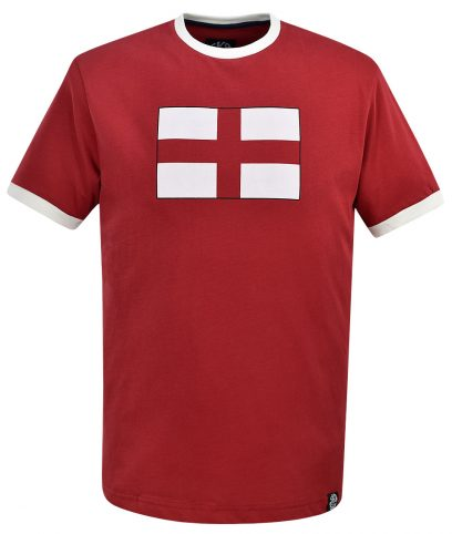 Ska & Soul Red St George England Flag T-Shirt