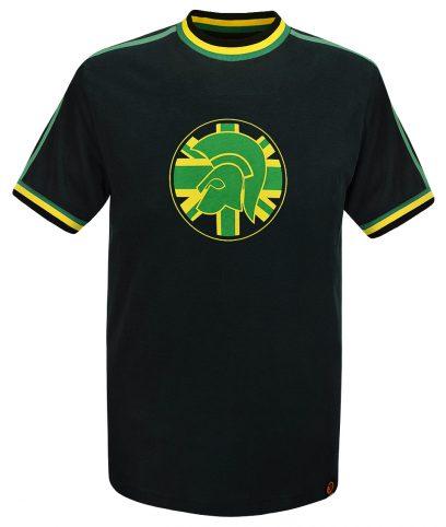 Trojan Records Jamaica Twin Stripe Helmet T-Shirt