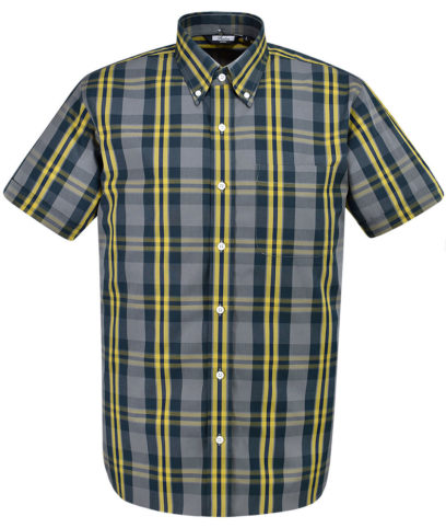 Relco Grey CK29 Check Shirt