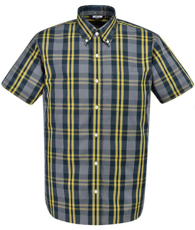Relco Grey CK29 Check Shirt