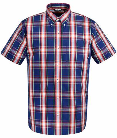 Relco Navy CK34 Check Shirt