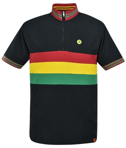 Trojan Records Rasta Stripe Front Cycling Top