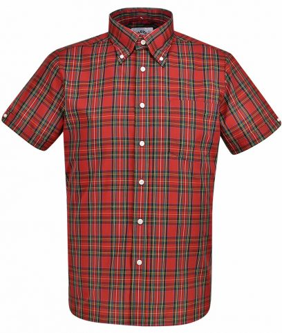 Brutus Classic Red Tartan Check Shirt