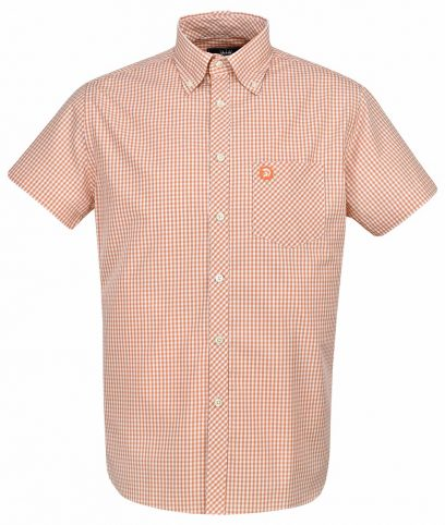 Trojan Records Orange Gingham Shirt