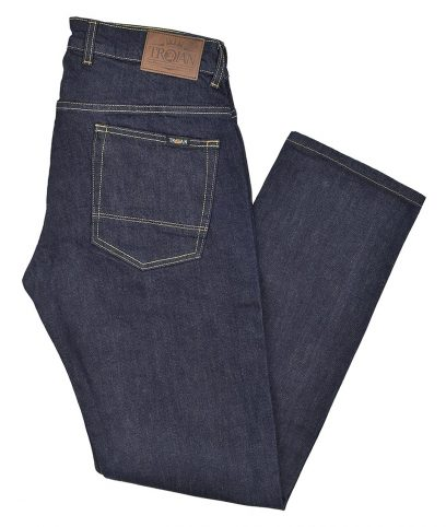 Trojan Records Raw Slim Fit Stretch Jeans