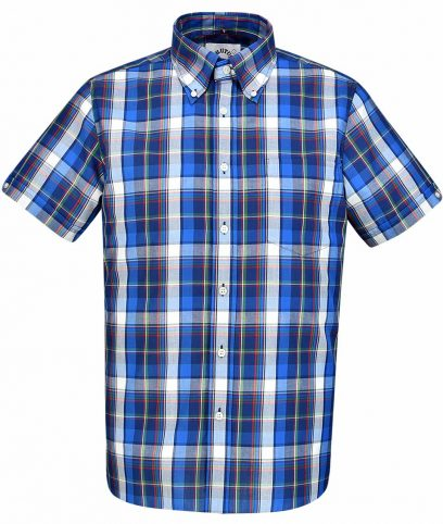 Brutus Blue Madras Check Shirt