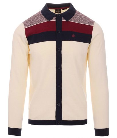 Merc Cream Keble Cardigan
