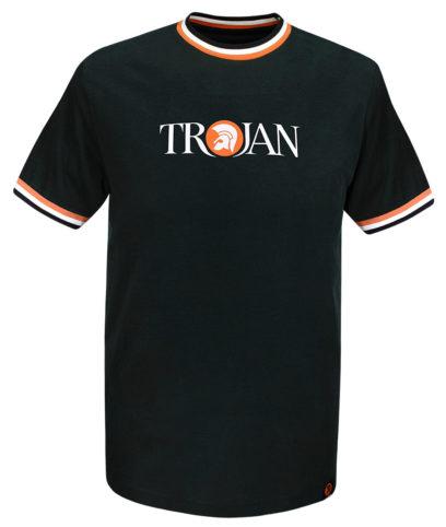 Trojan Records Black Signature Logo T-Shirt