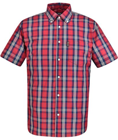 Trojan Records Red Tartan Check Shirt