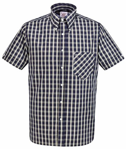 Britac SL438 Black Check Shirt