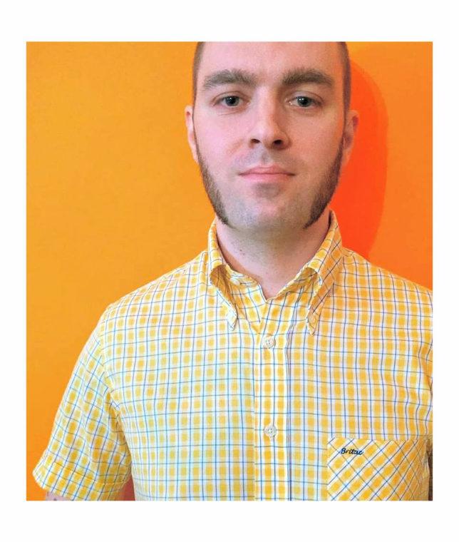 Britac SL446 Yellow Check Shirt