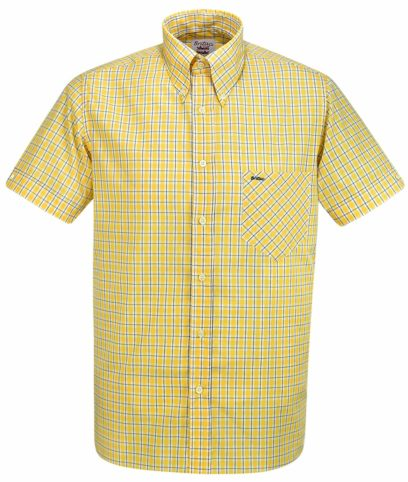 Britac SL446 Yellow Check Shirt