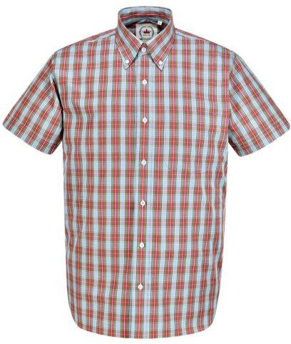 Relco Blue CK35 Check Shirt