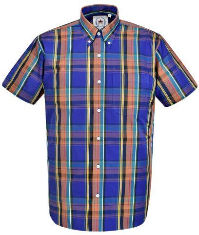 Relco Purple CK36 Check Shirt
