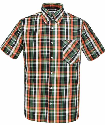 Art Gallery Green Rufus Check Shirt