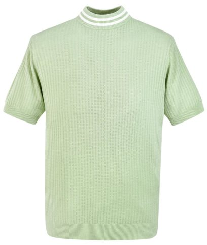 Art Gallery Spearmint Green Nolan Turtle Neck Top