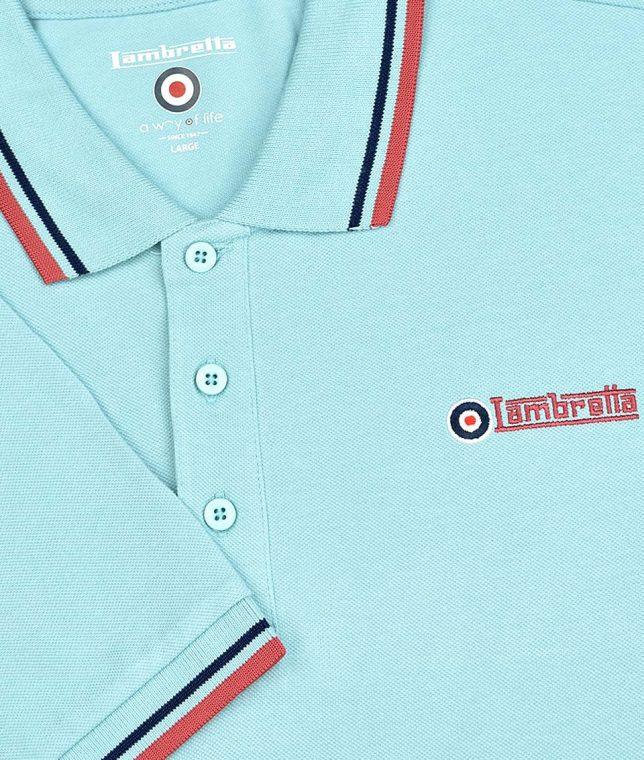Lambretta Stratosphere Twin Tipped Polo Shirt