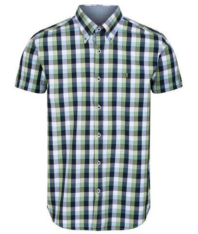 Gabicci Vintage Elm Altitude Check Shirt