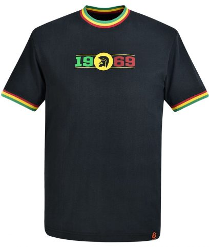 Trojan Records Rasta 1969 Logo T-Shirt