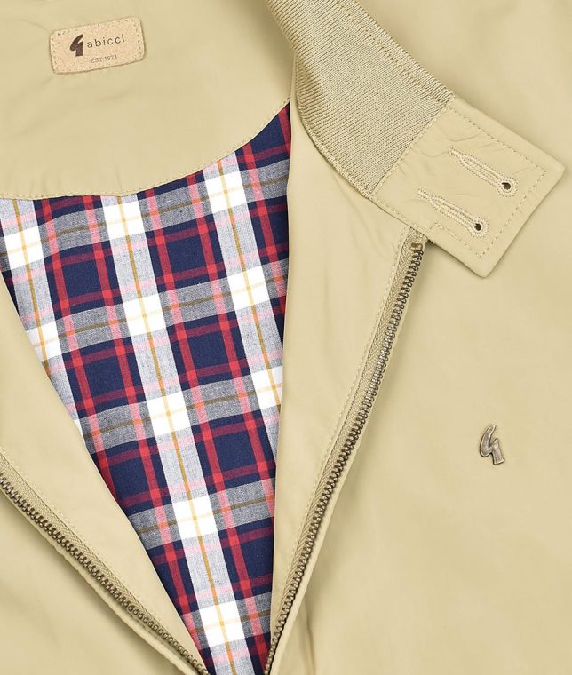 Gabicci Vintage Fawn Hamilton Harrington Jacket