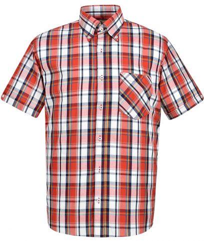 Real Hoxton Red 5126 Check Shirt
