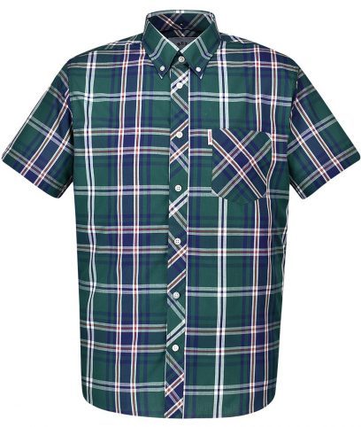 Brutus Green & Blue Check Shirt
