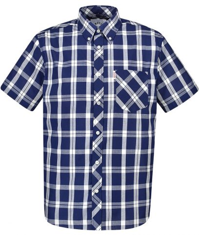 Brutus Navy & White Check Shirt