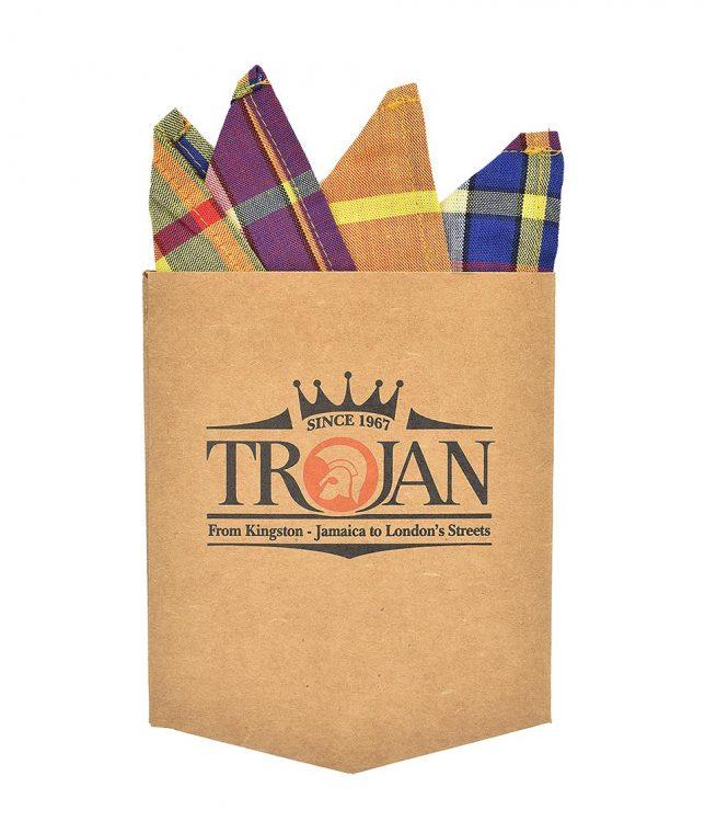 Trojan Records Gold Madras Check Shirt