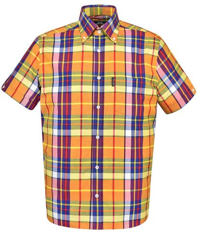 Trojan Records Gold Madras Check Shirt