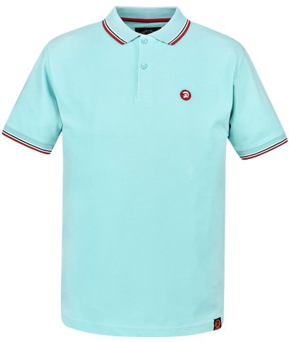 Trojan Records Mint Signature Tipped Polo Shirt