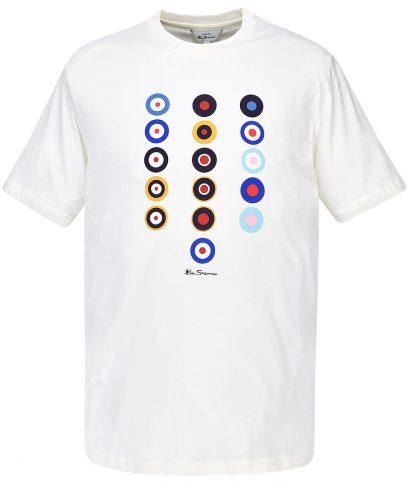 Ben Sherman Ivory History Of Target T-Shirt