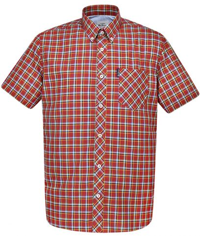 Ben Sherman Red Check Shirt